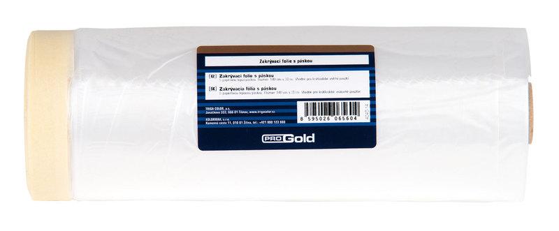Zakrývací fólie s papírovou páskou